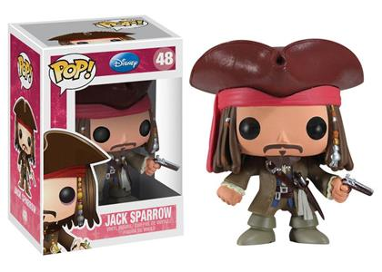 Funko POP! Pirates Of The Caribbean. Jack Sparrow