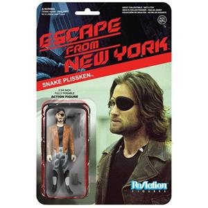 Funko ReAction Series. Escape From NY. Snake Plisskin in Jacket