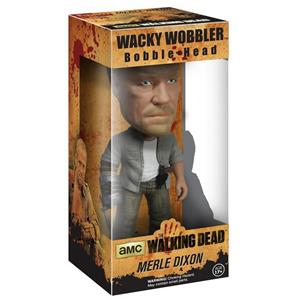 Funko Wacky Wobbler. The Walking Dead. Merle Dixon Bobble Head Figure - 2