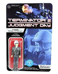 Funko ReAction Series. Terminator 2. T 1000 in Patrolman Frozen. Vinyl Figure 10cm