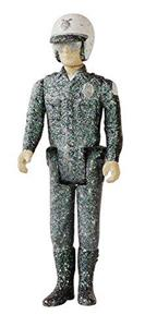 Funko ReAction Series. Terminator 2. T 1000 in Patrolman Frozen. Vinyl Figure 10cm - 2