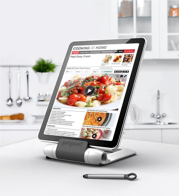 Prepara Iprep Supporto Per Tablet Da Cucina Con Pennino E Leggio ...