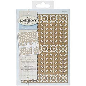 Spellbinders Shapeabilities Expandable Pattern Dies-French Harmony