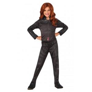 Costume Black Widow Bambina Originale Marvel Medium 5 - 7 Anni 132 cm