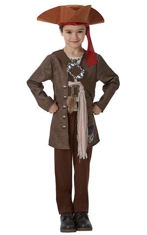 CAPITAN JACK Sparrow-Maschera di carta-Prodotto con Licenza-Pirati dei Caraibi