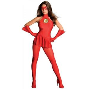 Costume The Flash Girl Sexy - 8
