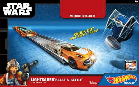 Hot Wheels. Star Wars. Character Launcher