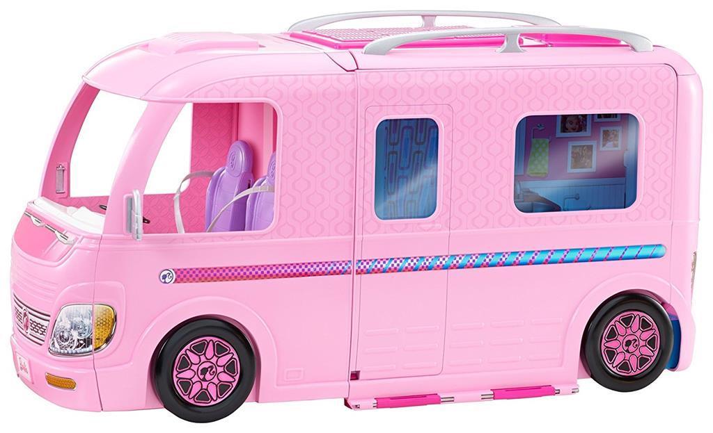 Barbie camper mattel bambole fashion giocattoli ibs