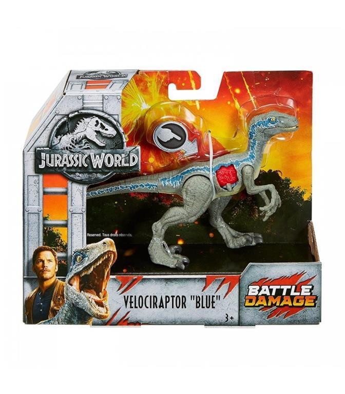 Jurassic World. FC VELOCIRAPTOR BLUE - Mattel - TV \u0026 Movies