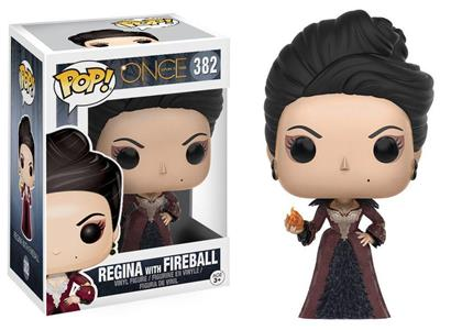 Funko POP! Television. Once Upon a Time Regina with Fireball Vinyl Figure 10cm - 2