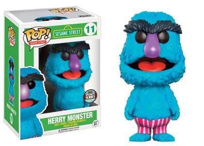 Funko POP! Speciality Series. Sesame Street Herry Monster - 3