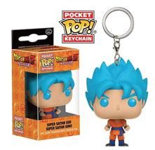 Pocket Pop Keychain Portachiavi Dragon Ball Z Goku God Mini Figure