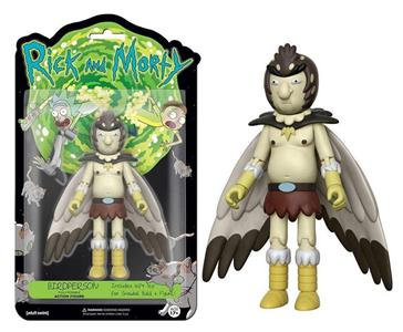 Funko Rick & Morty TV-Series. Bird Person Poseable Figure