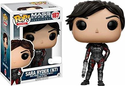 Funko POP! Games Mass Effect Andromeda. Sara Ryder. N7 with Gun - 2