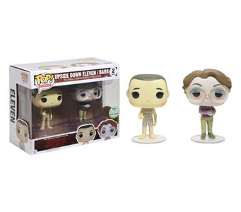 Funko Pop Upside Down Eleven / Barb 2 pack. Stranger Things