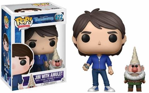 Funko POP! Trollhunters. Jim With Amulet Exclusive Vinyl Figure 10cm