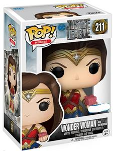 Funko POP! Justice League. Wonder Woman with Mother Box - 3