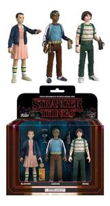 Funko Vinyl Television Stranger Things. 3-PACK #1. Eleven, Lucas & Mikes