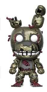 Funko Pop Culture Games Five Nights At Freddy's Dark Springtrap Vynil Figure