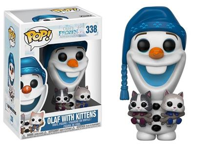 Funko POP! Disney Olafs Frozen Adventure. Olaf with Cats - 2