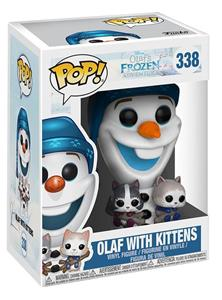 Funko POP! Disney Olafs Frozen Adventure. Olaf with Cats - 3