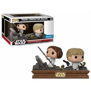 Funko Star Wars. Movie Moments. Luke & Leia Trash Compactor.s - 2