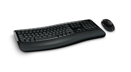 Microsoft Wireless Comfort Desktop 5050 RF Wireless QWERTY Nero - 6
