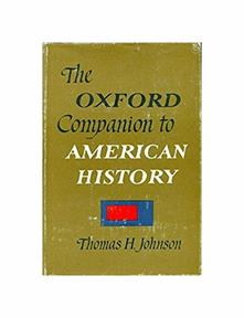 Oxford Companion To American History - copertina