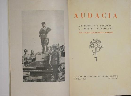 Discorso Camera Mussolini : Audacia da scritti e discorsi di benito mussolini per i giovani