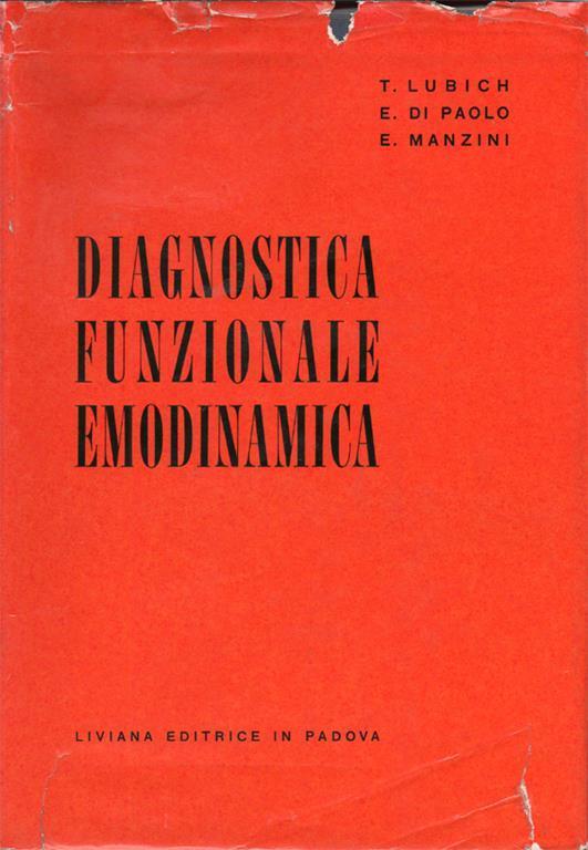 Arredo Bagno Bologna Manzini.Diagnostica Funzionale Emodinamica Prefazione Del Prof Giulio