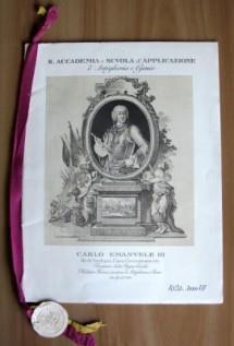 Calendario 1929.Calendario 1929 R Accademia E Scuola D Applicazione Di Artiglieria E Genio Carlo Emanuele Iii