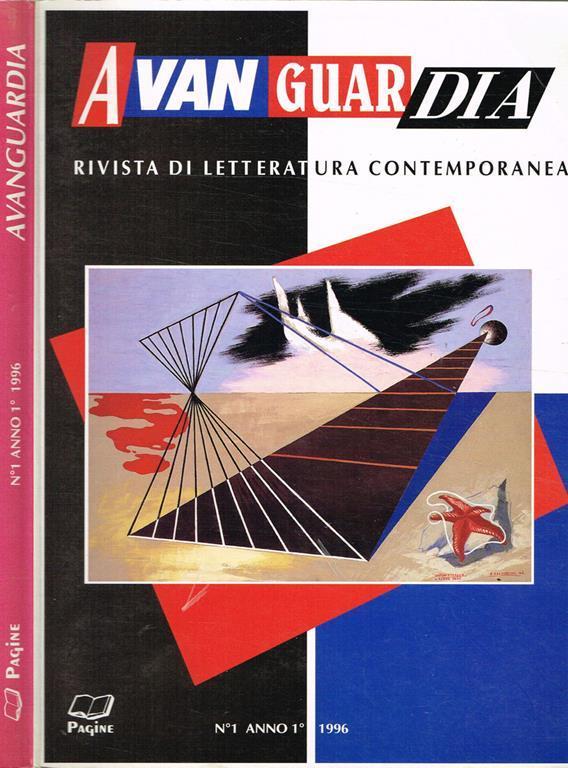 Avanguardia. Rivista Di Letteratura Contemporanea Anno I N.1 Rivista Quadrimestrale