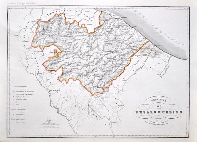 Cartina Geografica Provincia Di Pesaro Urbino.Provincia Di Pesaro E Urbino Vallardi Francesco Edit Libro Usato Nd Ibs
