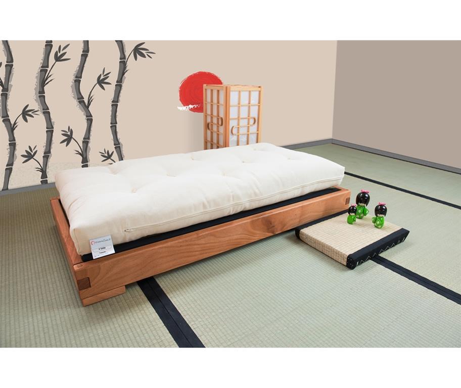 Tatami Su Misura.Lettino Montessoriano Artigianale Per Bambini Akachan Futon E Tatami Inclusi Misure Est 76x146 Misura Int 70x140 Futon E Tatami