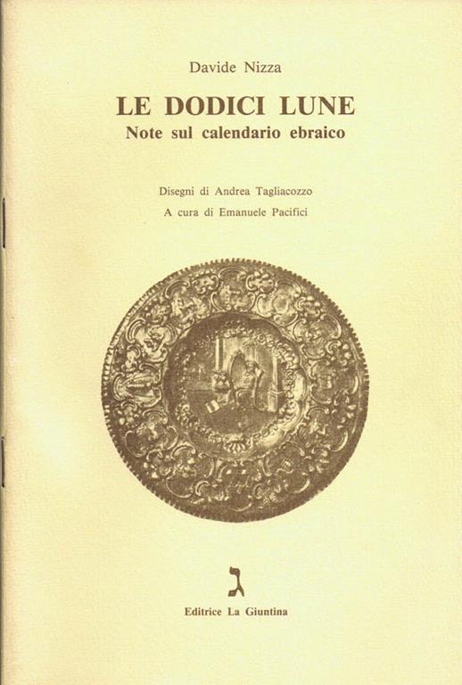 Calendario Ebreo.Le Dodici Lune Note Sul Calendario Ebraico