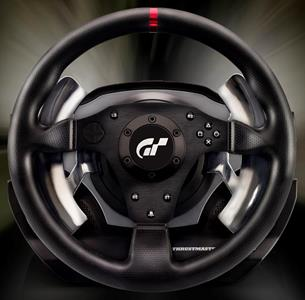 Thrustmaster T500 RS GT Sterzo + Pedali PC, Playstation 3 Nero - 10