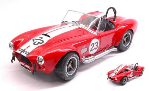 Solido SL1850010 SHELBY AC COBRA 427 RACING N.23 1965 1:18 Modellino