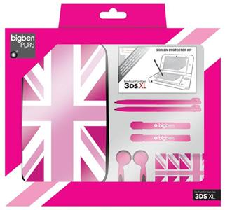 BB Pack UK Flag Pink 3DS XL - 2