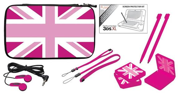 BB Pack UK Flag Pink 3DS XL - 4