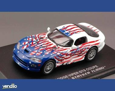 Universal Hobbies UH3674 DODGE VIPER GTS COUPE' TWIN STRYKER TURBO 1:43 Modellino