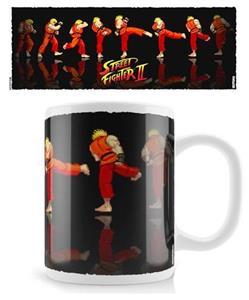 Tazza MUG Street Fighter Ken Sequence