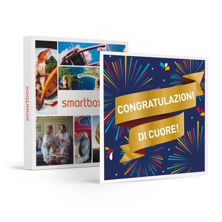 SMARTBOX - Congratulazioni di cuore! - Cofanetto regalo ...