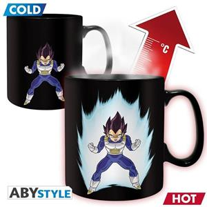 Dragon Ball. Mug Heat Change. 460 Ml. Dbz/ Vegeta. With Box X2