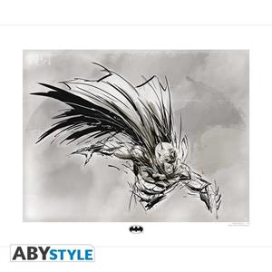 Dc Comics - Collector Artprint - Batman Sketch (50X40)