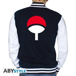 Naruto Shippuden. Jacket. Uchiha Men Navy/White Medium