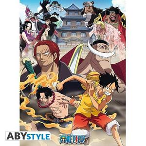 One Piece. Poster Marine Ford (52X38)