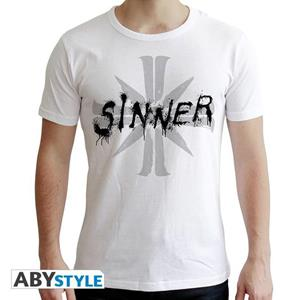 Far Cry. T-shirt. Sinner. Man Ss White. New Fit Large