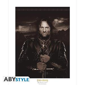 Lord of the Ringss Collector Artprint. Aragorn