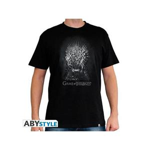 Game Of Thrones. T-shirt Iron Throne Man Ss Black. Basic Double Xl