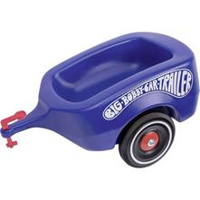 Rimorchio a spinta per bambini Big Bobby Car Trailer Blu Reale
